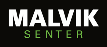 Malvik Senter logo